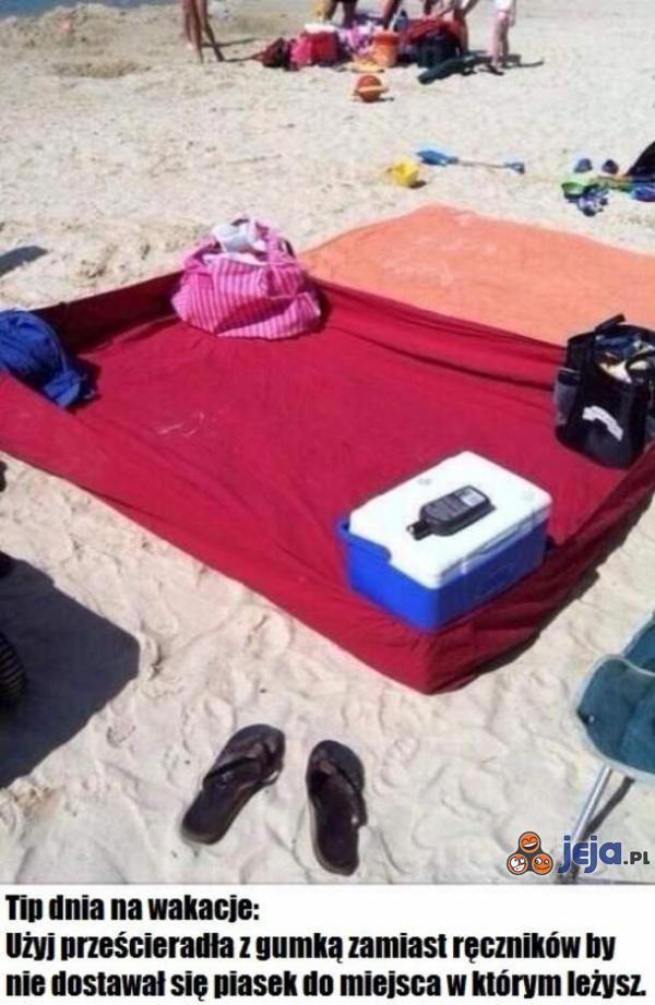 """Z cyklu: """"Plażowe wynalazki"""""""