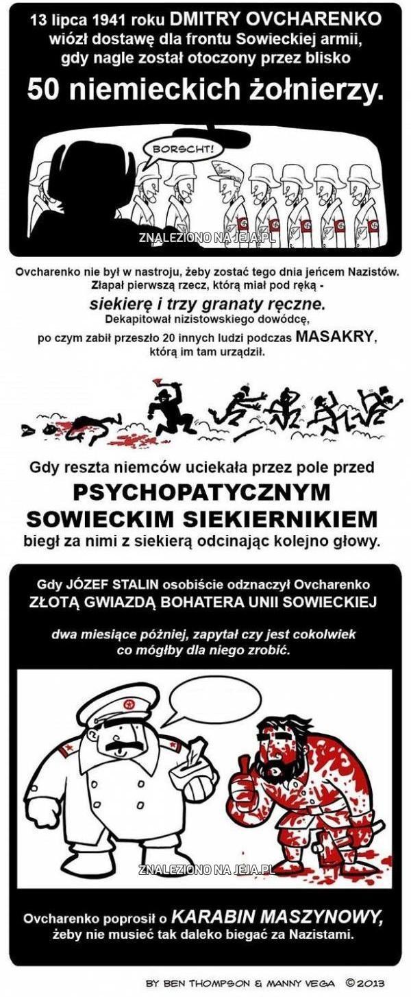 Psychopatyczny sowiecki siekiernik