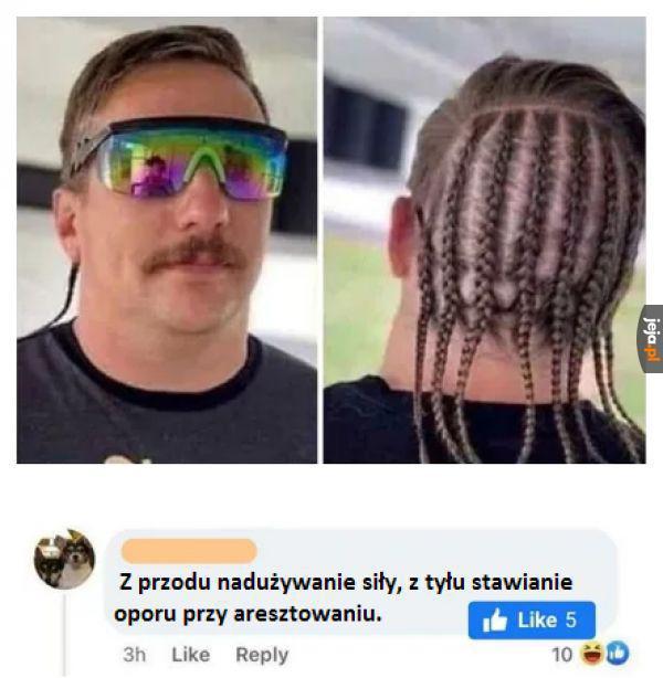 Uniwersalna fryzura