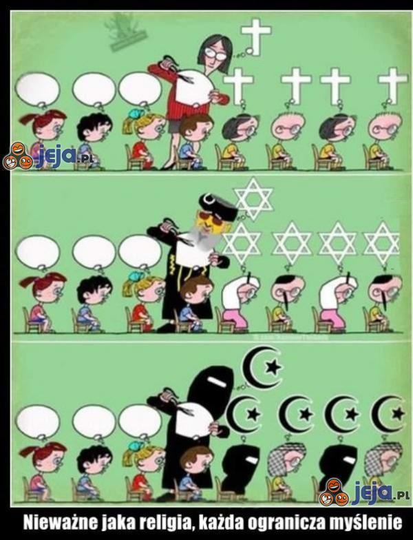Nieważne jaka religia