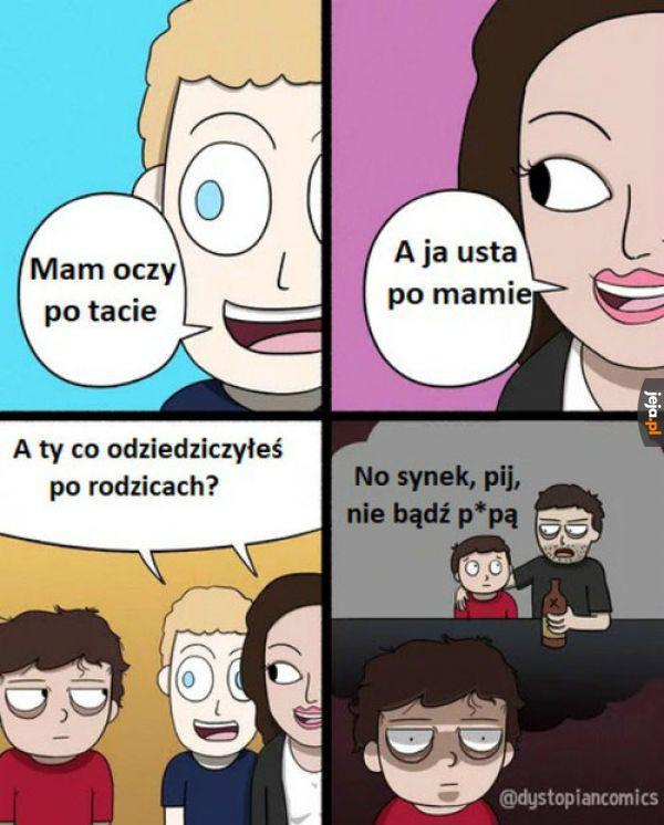 Po rodzicach