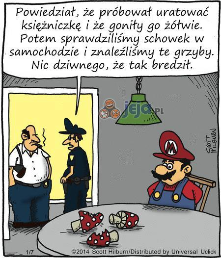 Mario, co Ty żeś narobił..?