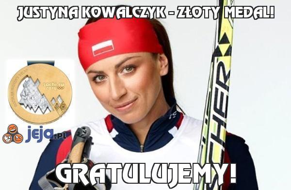 Justyna Kowalczyk - Złoty medal!