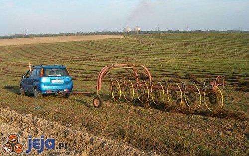 Nowoczesny traktor