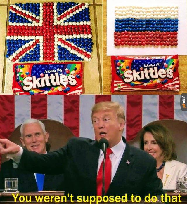 Amerykańskie Skittles