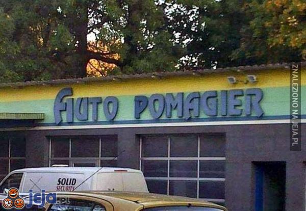 Yyy... to znaczy auto pomagier?