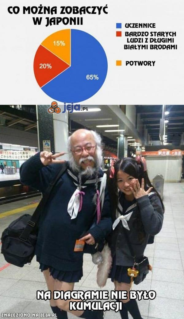 Co można zobaczyć w Japonii?