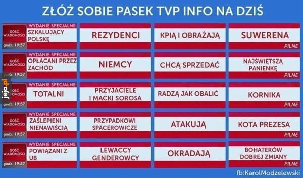 Generator newsów TVP