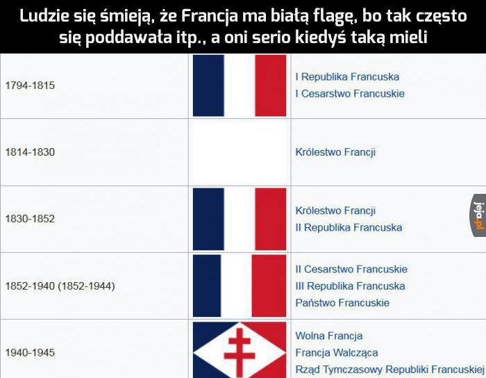 Biała flaga jest w 100% kanoniczna