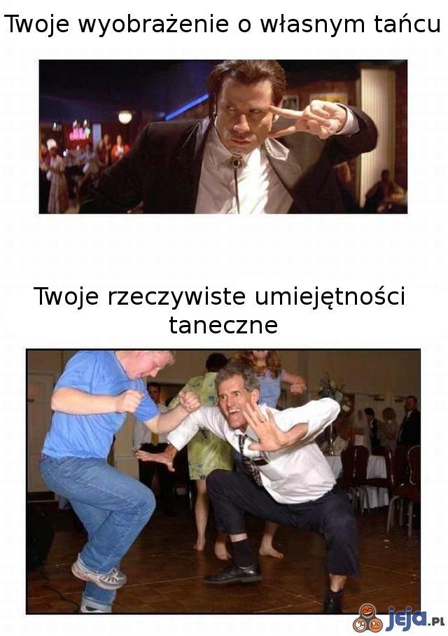 Taneczne umiejętności