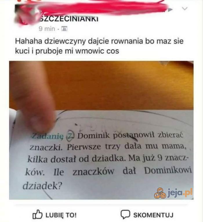 Matka Polka vs zadanie Brajanka