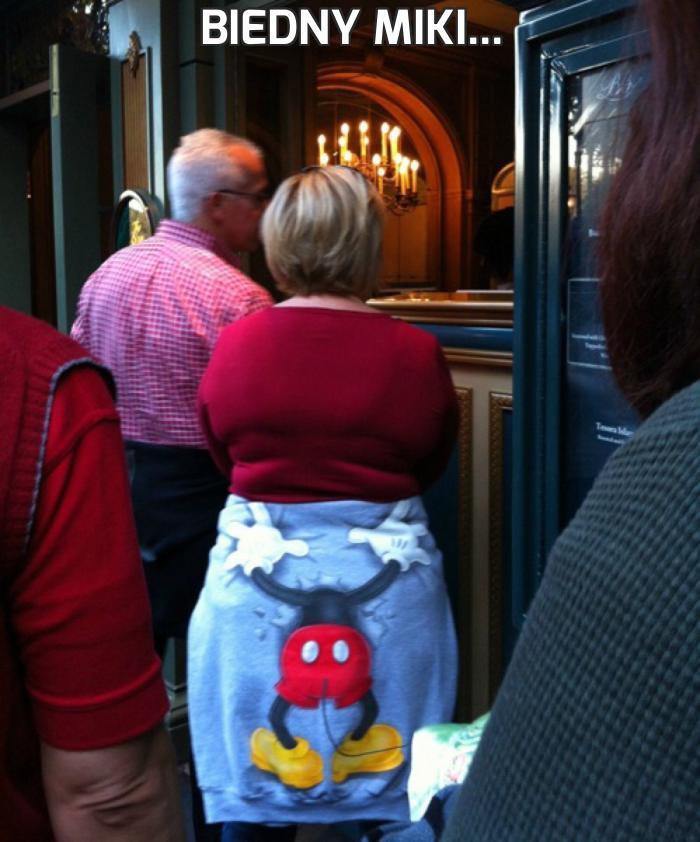 Biedny Miki...