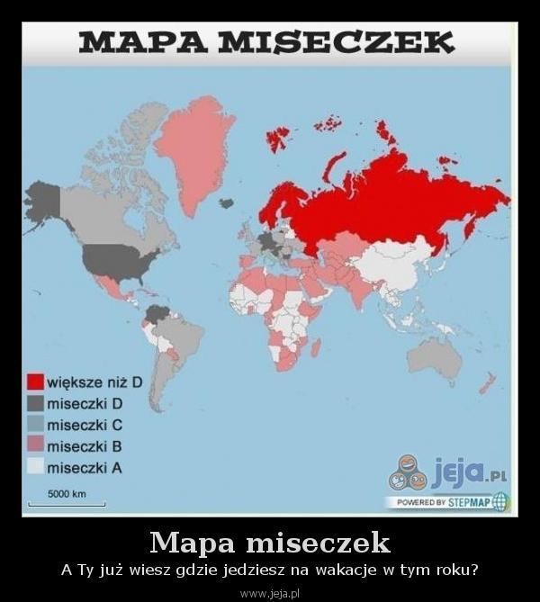 Mapa miseczek