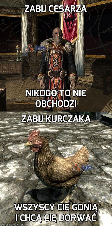 Kurczak ważniejszy niż cesarz