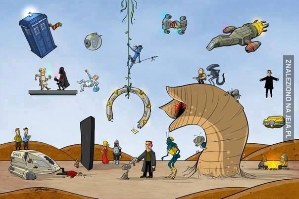 Coś dla prawdziwego fana Sci-Fi