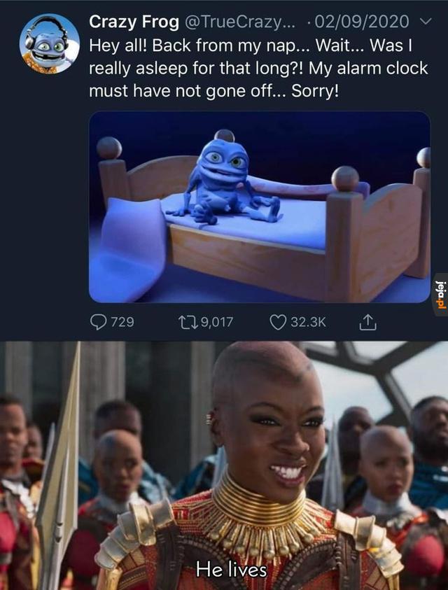 A któż to wrócił?