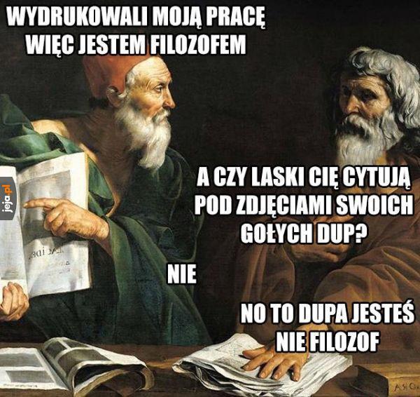 Co z niego za filozof?