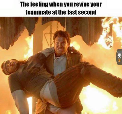 Kiedy ratujesz kumpla w ostatniej chwili
