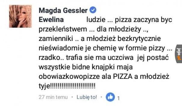Pizza to przekleństwo