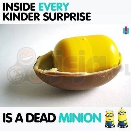 Smutna prawda o Kinder Niespodziankach