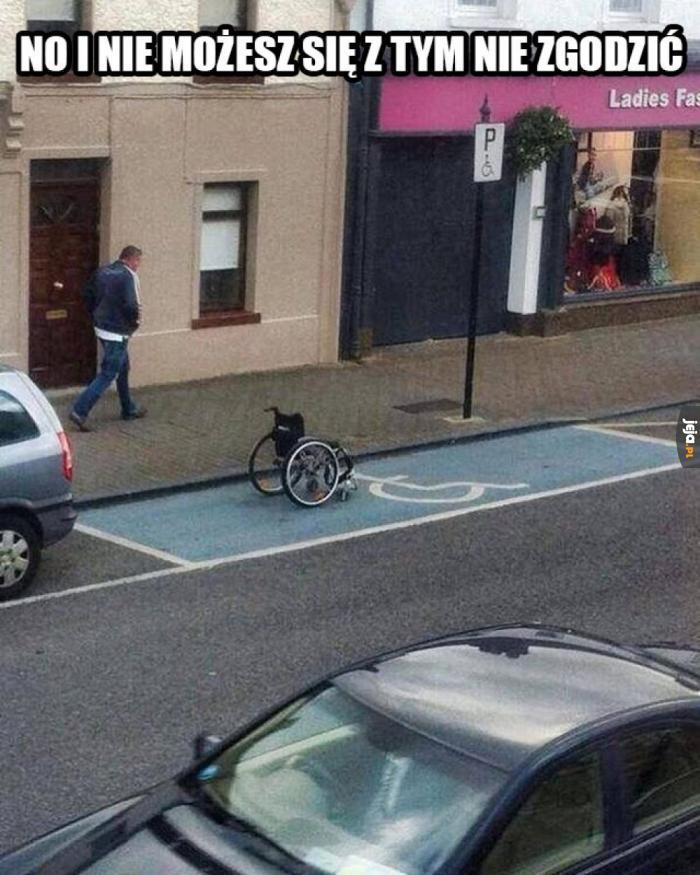 Miejsce dla niepełnosprawnych