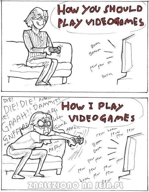 Jak grać na konsoli