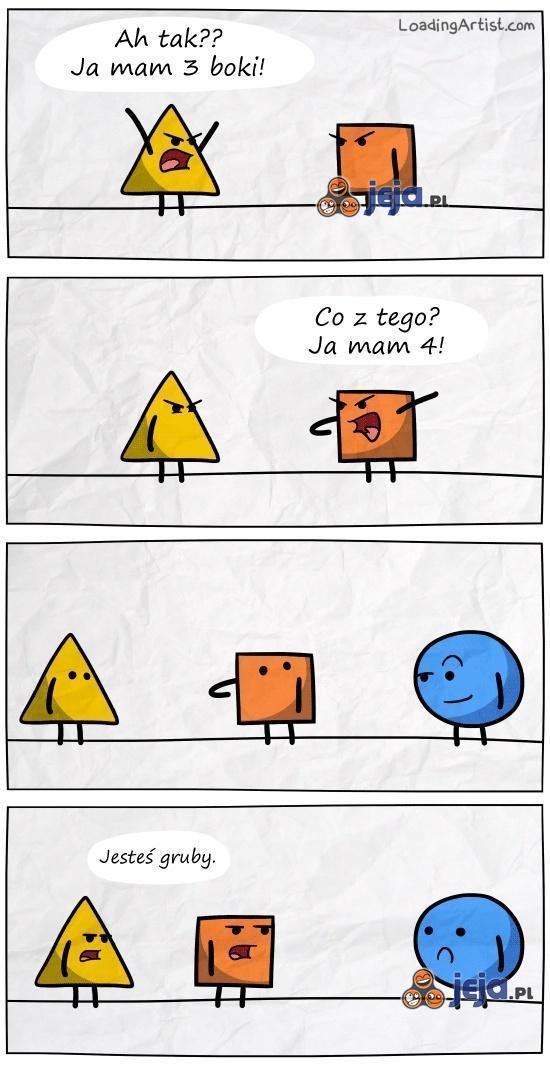 Geometryczna kłótnia