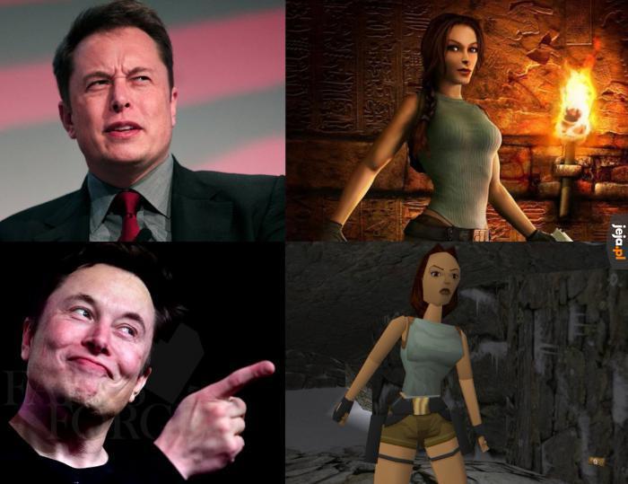 Elon Musk ma gust