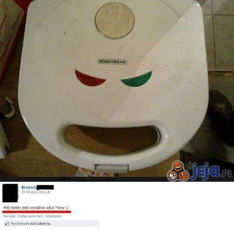 Zły toster