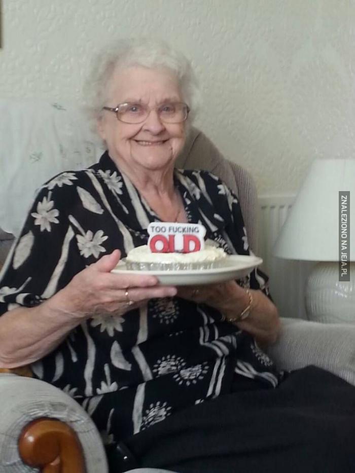Babci dopisuje humorek