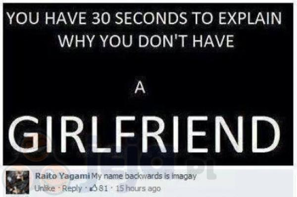 Dlaczego nie masz dziewczyny?