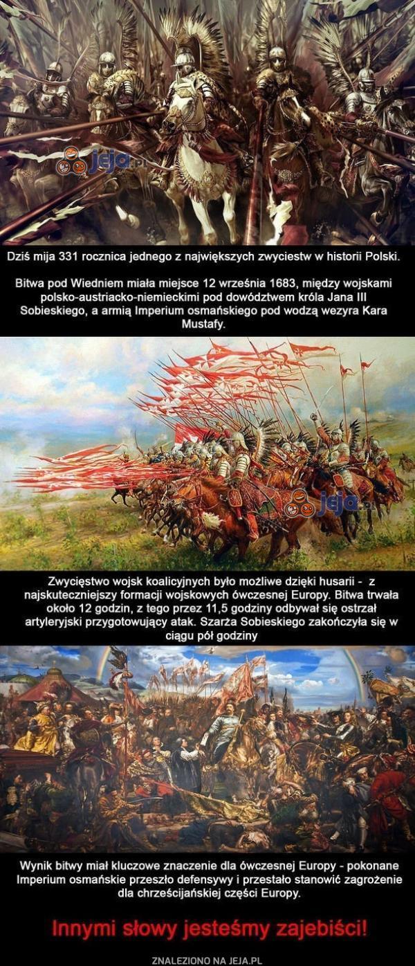 Polskie husaria, to kiedyś była potęga