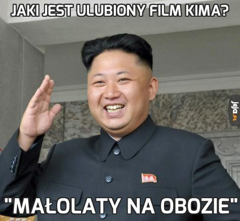Jaki jest ulubiony film Kima?