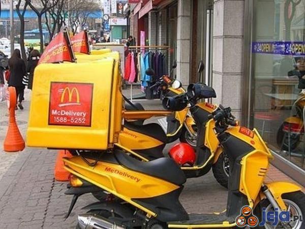 McDonald's jest już z dostawą do domu