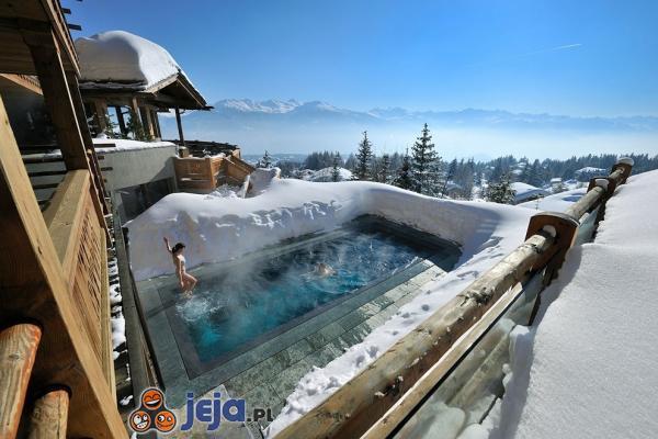 Kąpiel w górach
