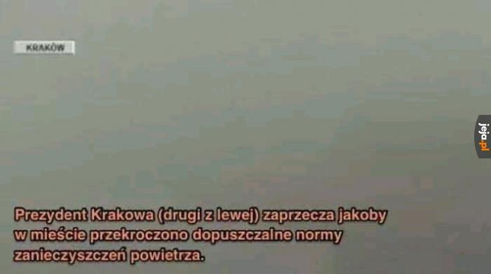 Kraków zimą jak co roku