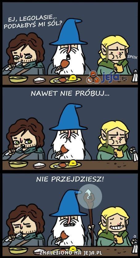 A ten Gandalf dalej swoje...