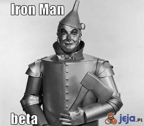 Iron Man beta