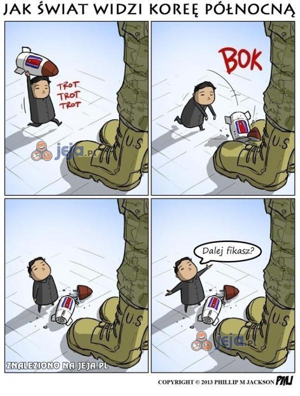 Jak świat widzi Koreę Północną