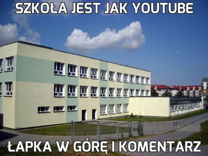 Szkoła jest jak Youtube