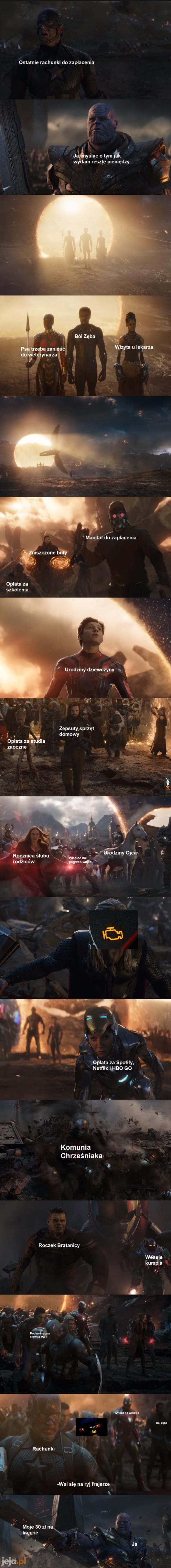 Avengers: Problemy finansowe