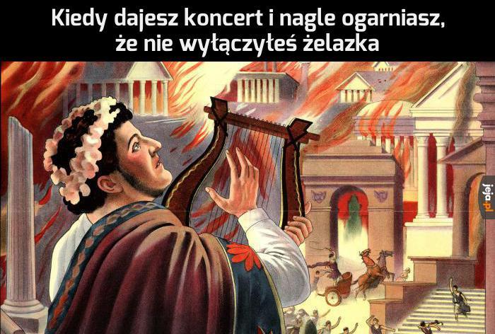 Rzym płonie!