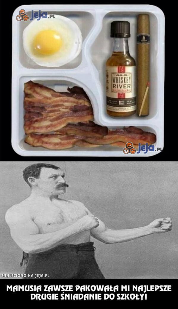 Najlepsze drugie śniadanie