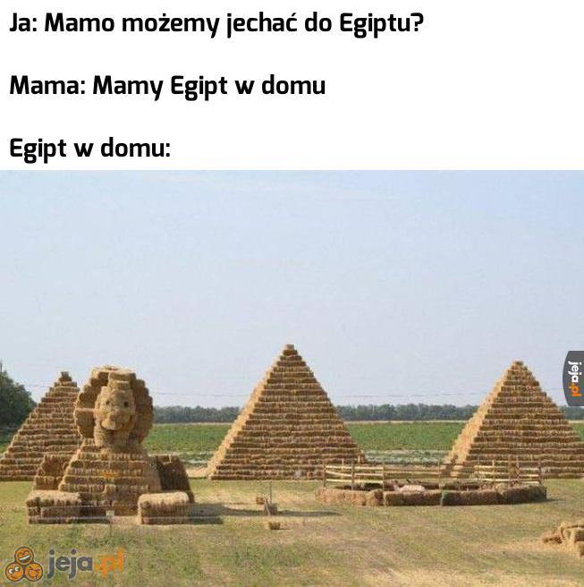 Jaki kraj, taki Egipt