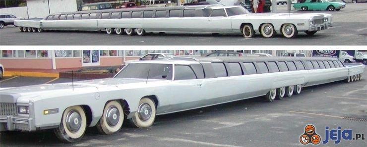 Najdłuższy samochód na świecie
