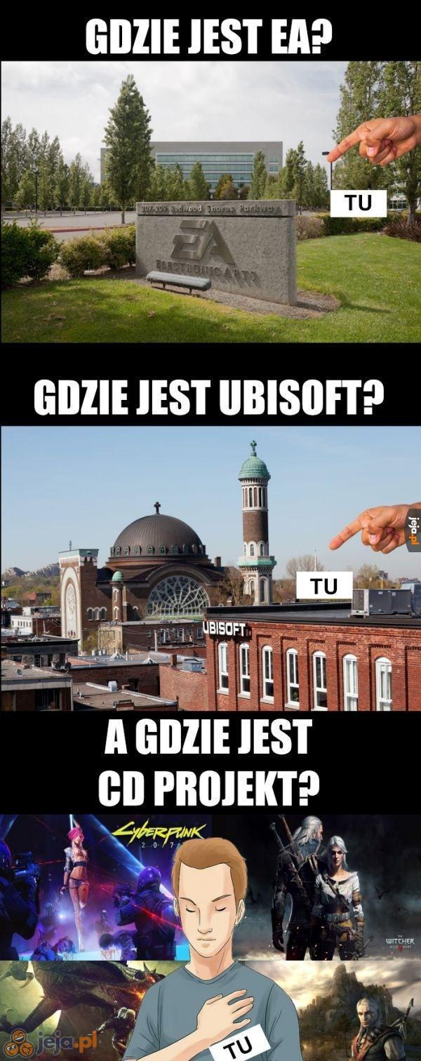 Gdzie są twórcy gier?