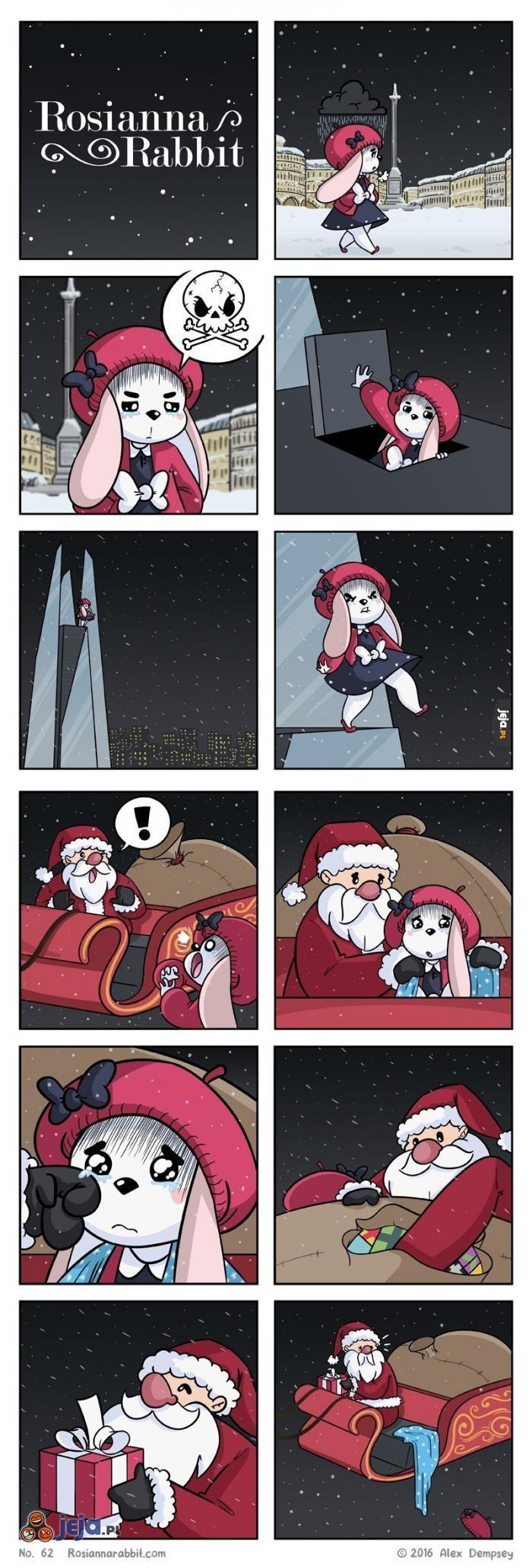 Samobójstwo królika: Rosianna i Mikołaj