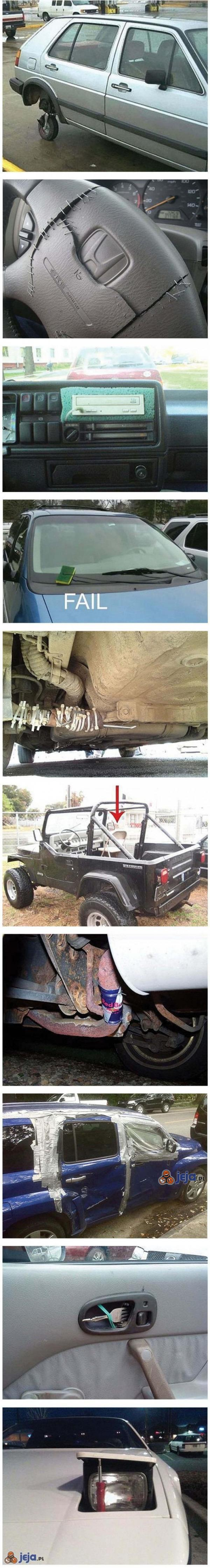 Najgorzej naprawione auta