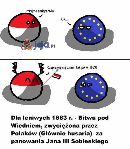 Polska przyjmie emigrantów...