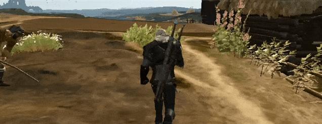 Wiedźmin w wersji na konsole